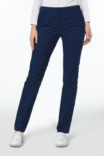 Slim fit scrubs pants STRETCH SE1-G, navy blue