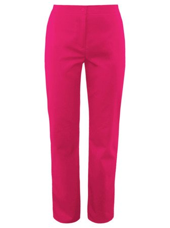 Scrubs pants with an elastic waist SC4-F, fuchsia